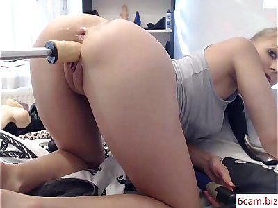 Girls4cock.com ***  Elise Takes Big Cock in her Pussy Hole