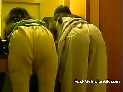 Indian College Girls Nude In Bathroom Getting Fucked